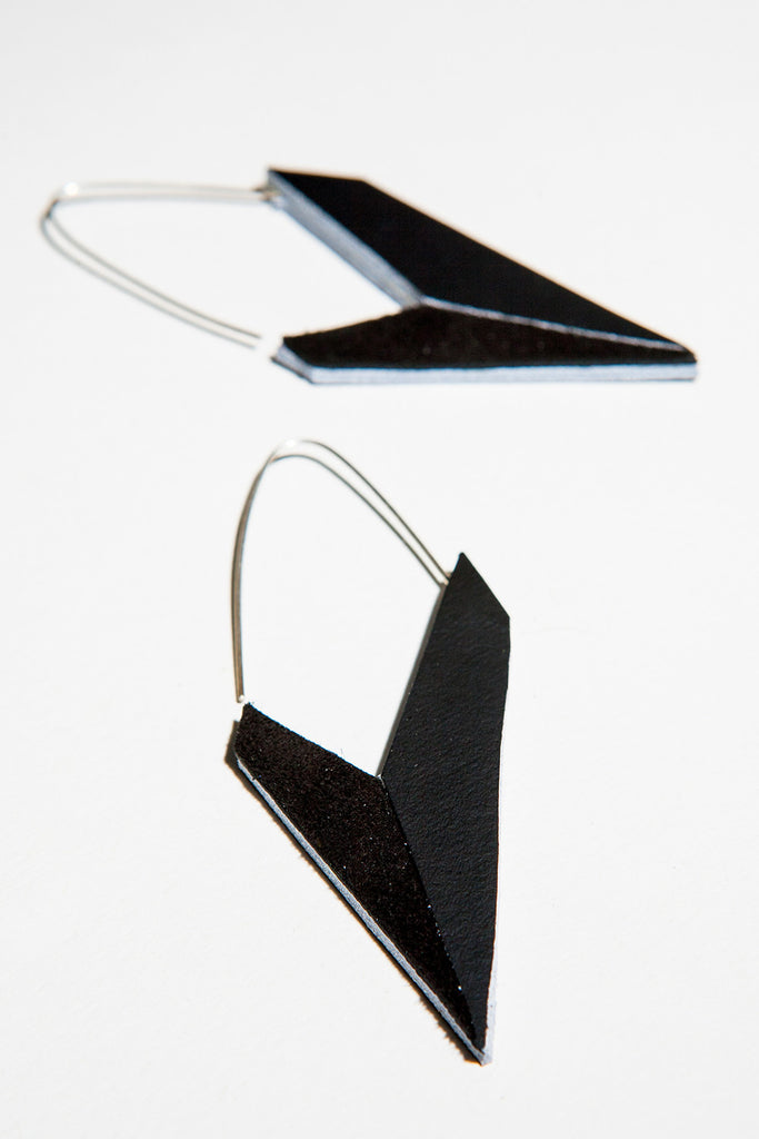AUMORFIA - POLYGON CHECK EARRINGS - Jewellery - Ozon Boutique - 6