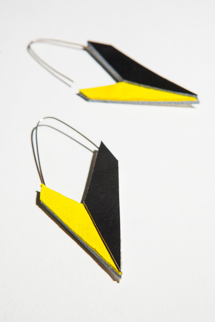 AUMORFIA - POLYGON CHECK EARRINGS - Jewellery - Ozon Boutique - 3