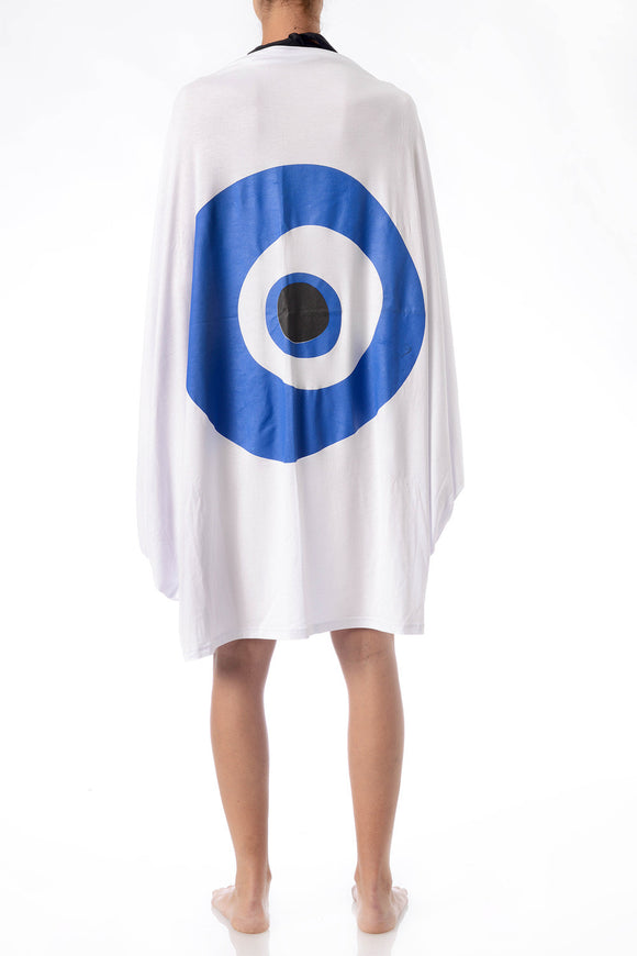 GREEK PAREAKI - THE EVIL EYE PAREO - Beachwear & Swimwear - Ozon Boutique - 1