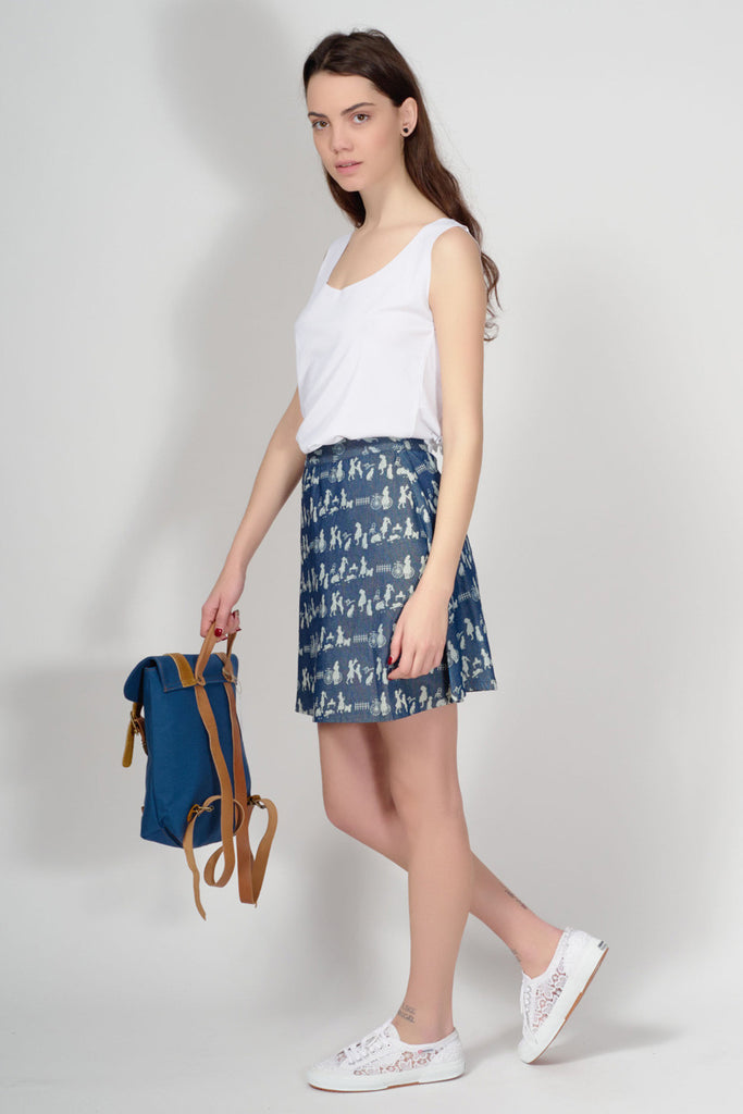 KLING - ACCRINGTON DENIM SKIRT - Women Clothing - Ozon Boutique - 2