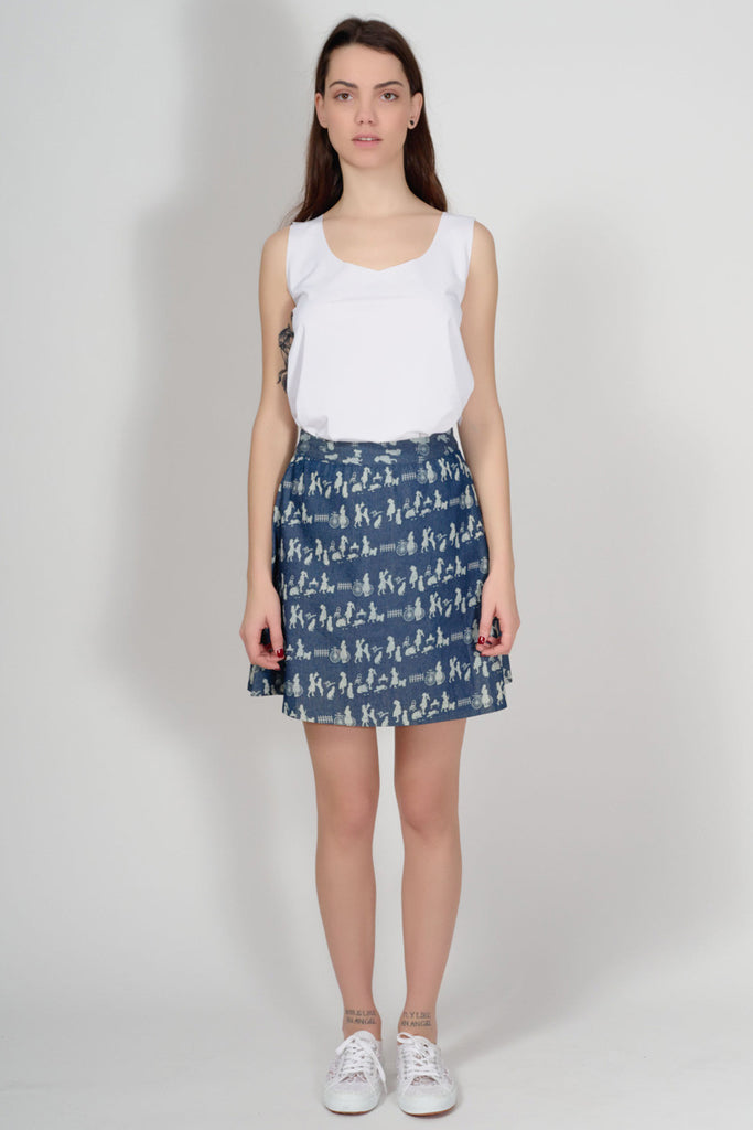 KLING - ACCRINGTON DENIM SKIRT - Women Clothing - Ozon Boutique - 4