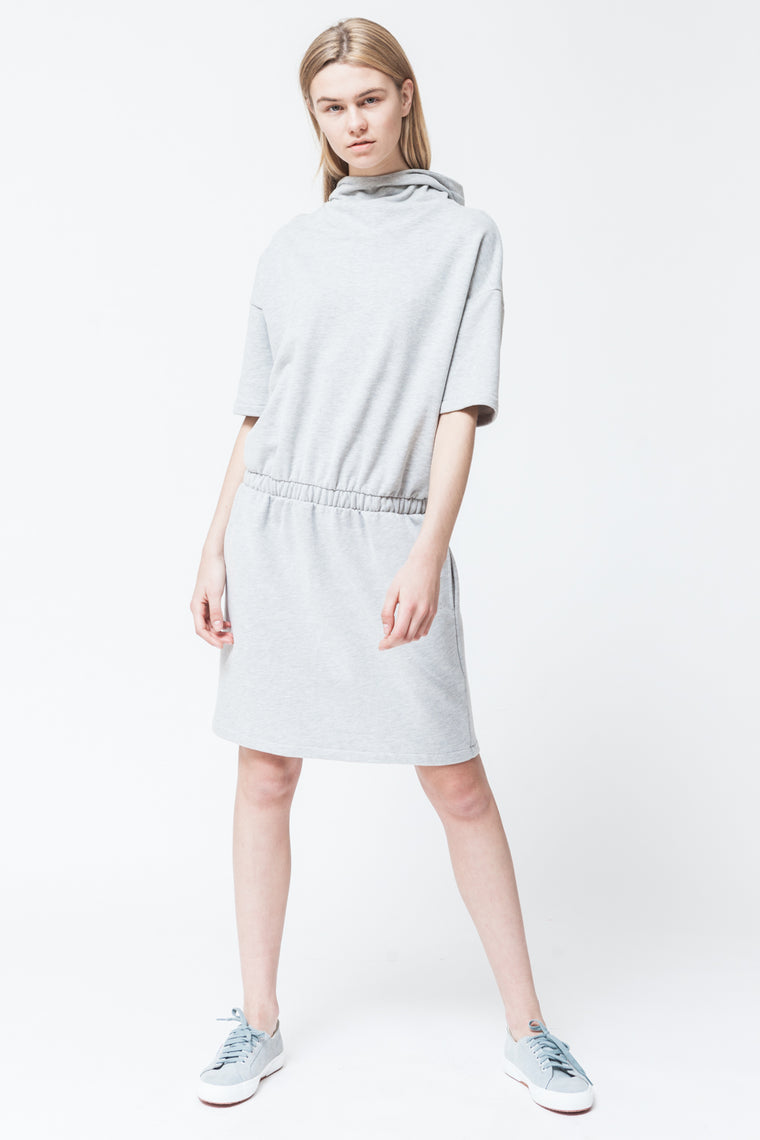 LOUNGE DRESS GREY
