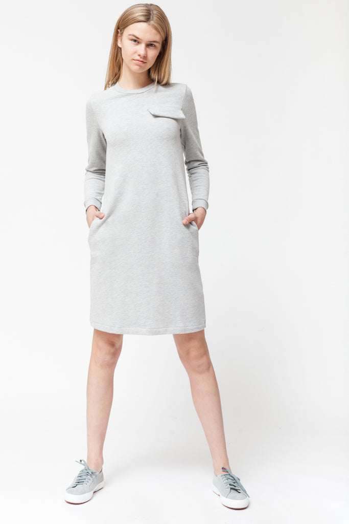 LOUNGE GREY DRESS