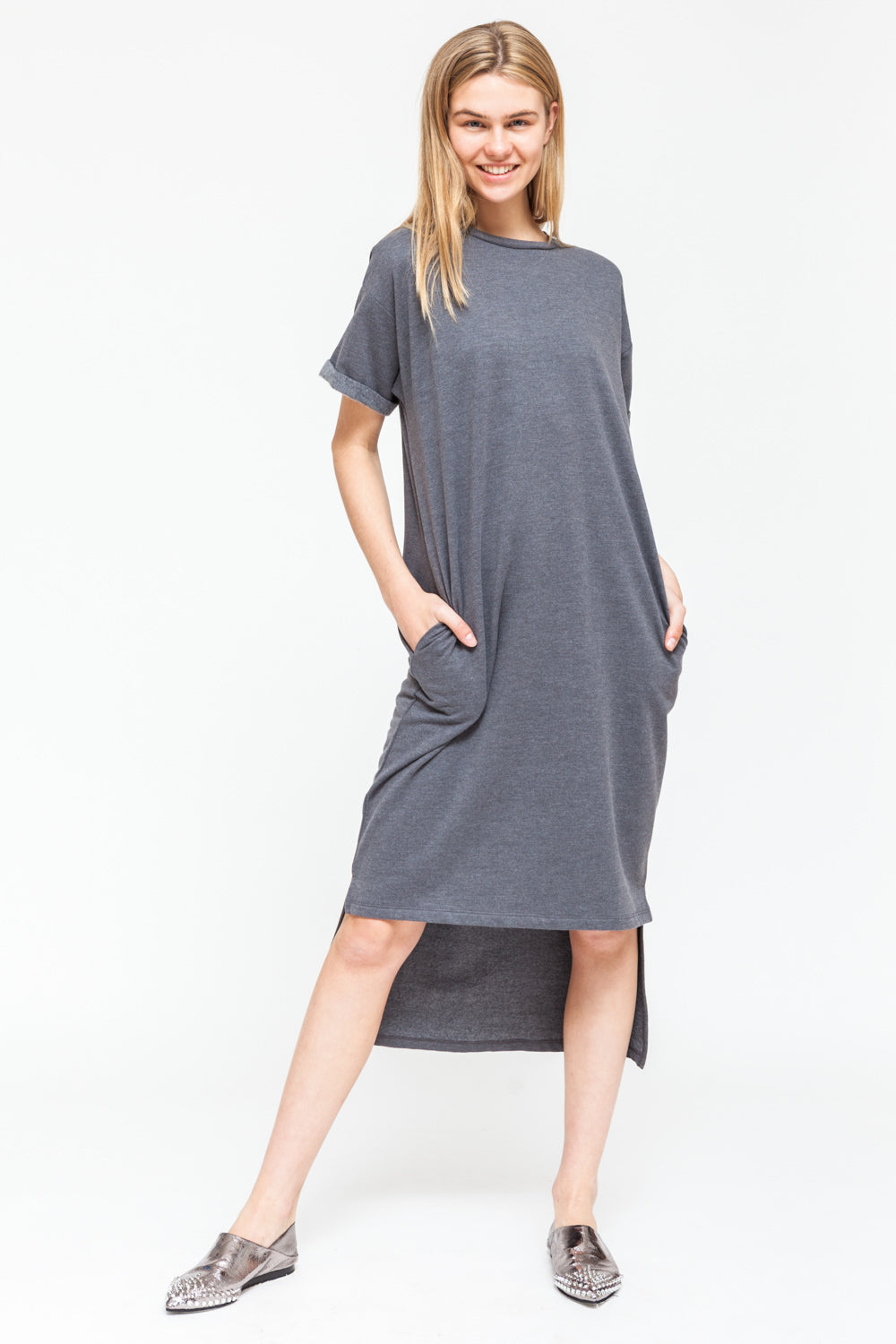 0329a2f91c29 NATIVE YOUTH - METAMORPHIC T-SHIRT DRESS - Ozon Boutique