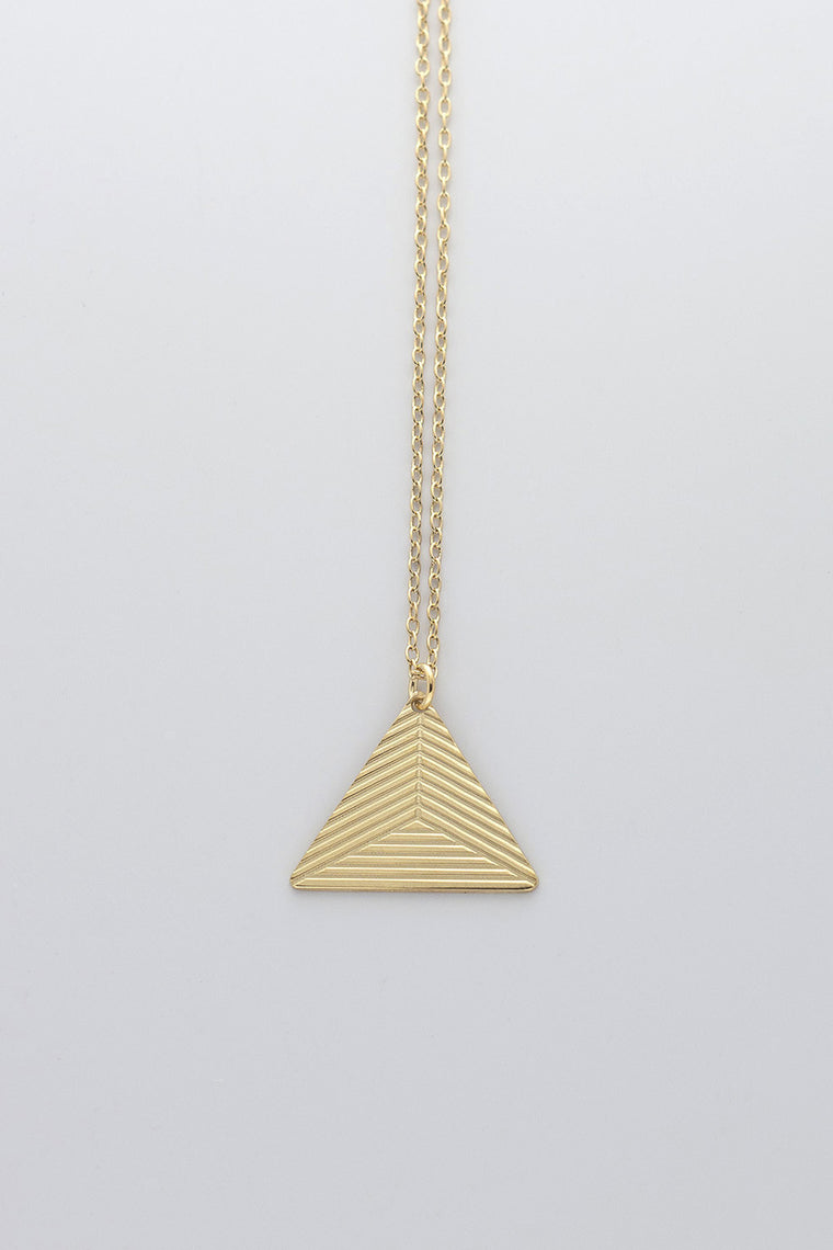 MOODLIKEME - PYRAMID B NECKLACE - Unisex Jewellery - Ozon Boutique - 1