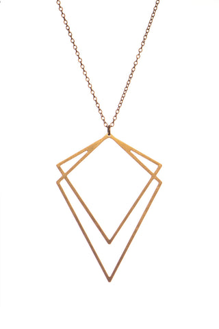 MOODLIKEME - SOLID NECKLACE GOLD/SILVER - Jewellery - Ozon Boutique - 1
