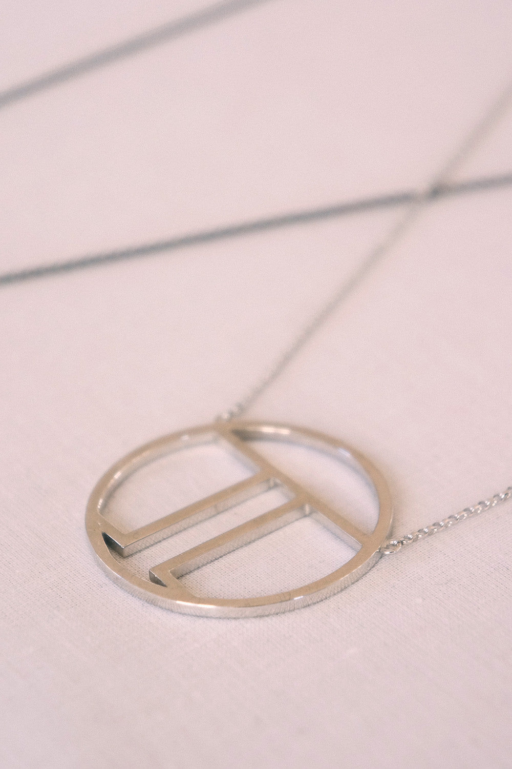 MOUTSATSOS - PI (π) GOLD PLATED SILVER - Jewellery - Ozon Boutique - 9