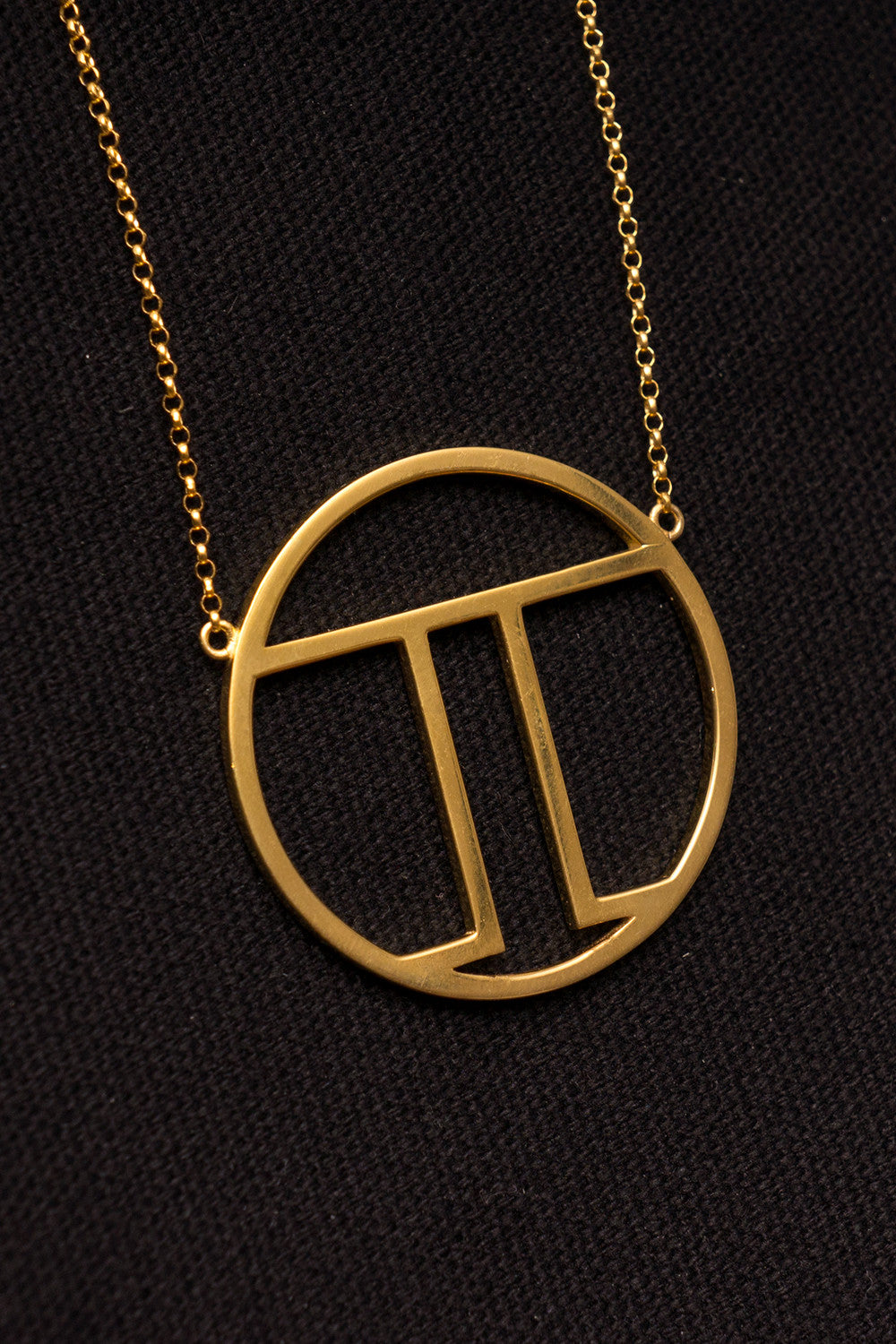MOUTSATSOS - PI (π) GOLD PLATED SILVER - Jewellery - Ozon Boutique - 7