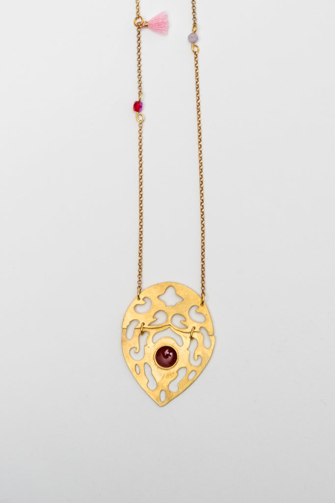 DROP ETHNIC NECKLACE