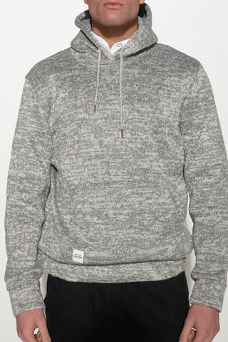 NATIVE YOUTH - BONDED KNIT HOODIE - Men Clothing - Ozon Boutique - 1