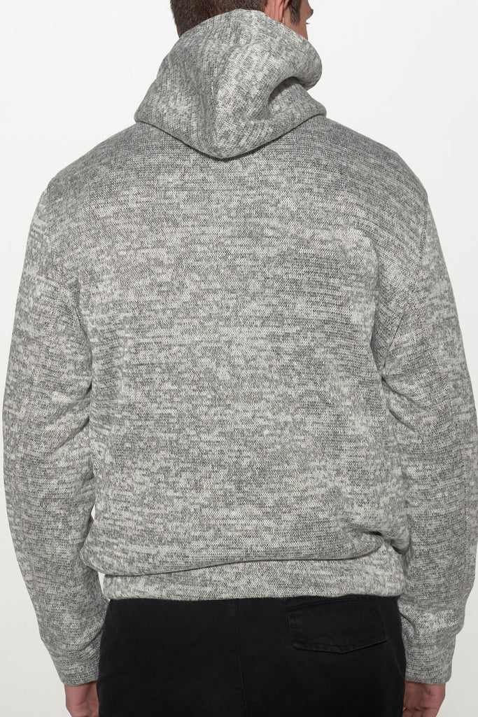 NATIVE YOUTH - BONDED KNIT HOODIE - Men Clothing - Ozon Boutique - 4