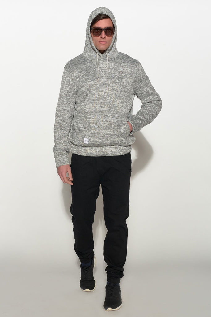 NATIVE YOUTH - BONDED KNIT HOODIE - Men Clothing - Ozon Boutique - 5