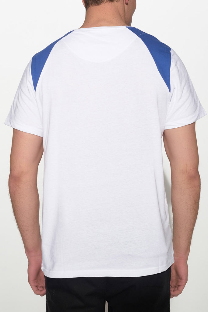 NATIVE YOUTH - SHOULDER BLOCK TEE - Men Clothing - Ozon Boutique - 3