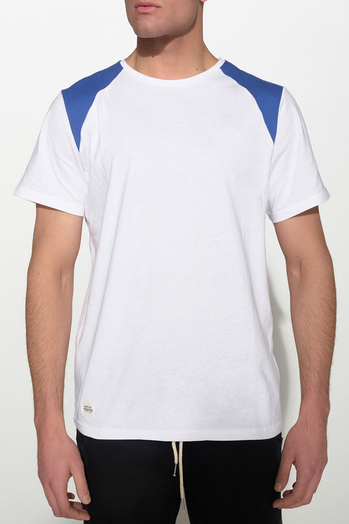NATIVE YOUTH - SHOULDER BLOCK TEE - Men Clothing - Ozon Boutique - 4