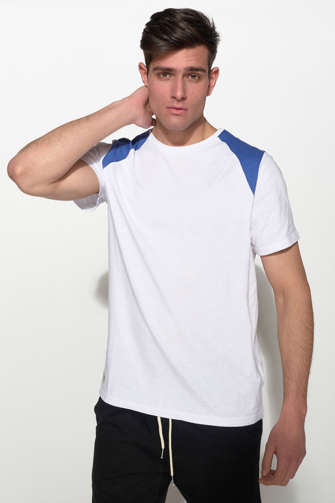 NATIVE YOUTH - SHOULDER BLOCK TEE - Men Clothing - Ozon Boutique - 1