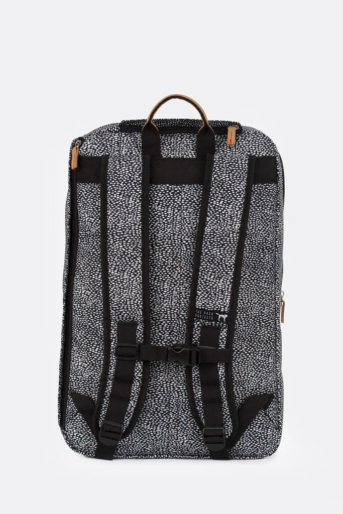OFF WHITE BLACK DOT DOUBLE BACKPACK