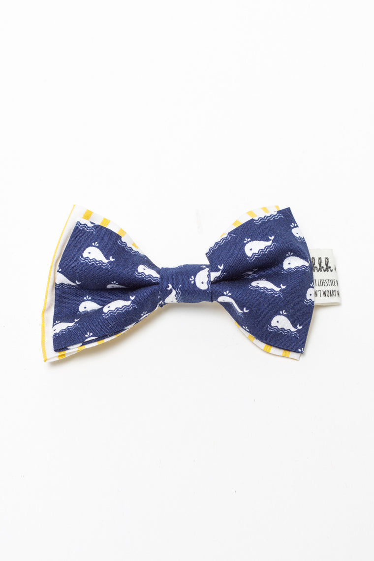 PET BOWTIES - FREE WILLY BLUE
