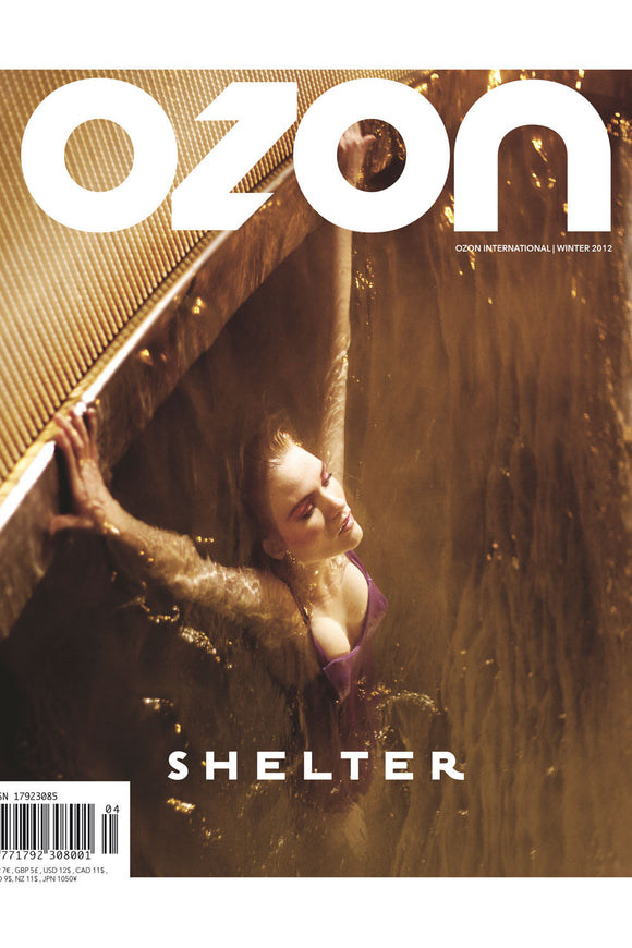 OZON - 'SHELTER' INTERNATIONAL ISSUE WINTER 2012 - Magazines - Ozon Boutique