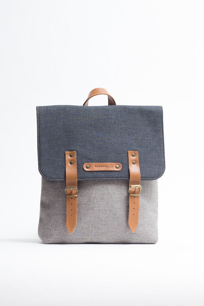 AUSTIN BI COLOR BLUE BACKPACK