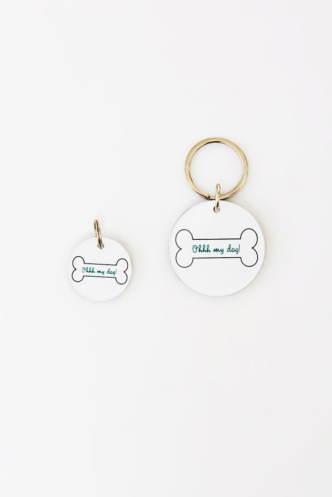 PAWEVER TOGETHER CAT TAG KEYRING SET