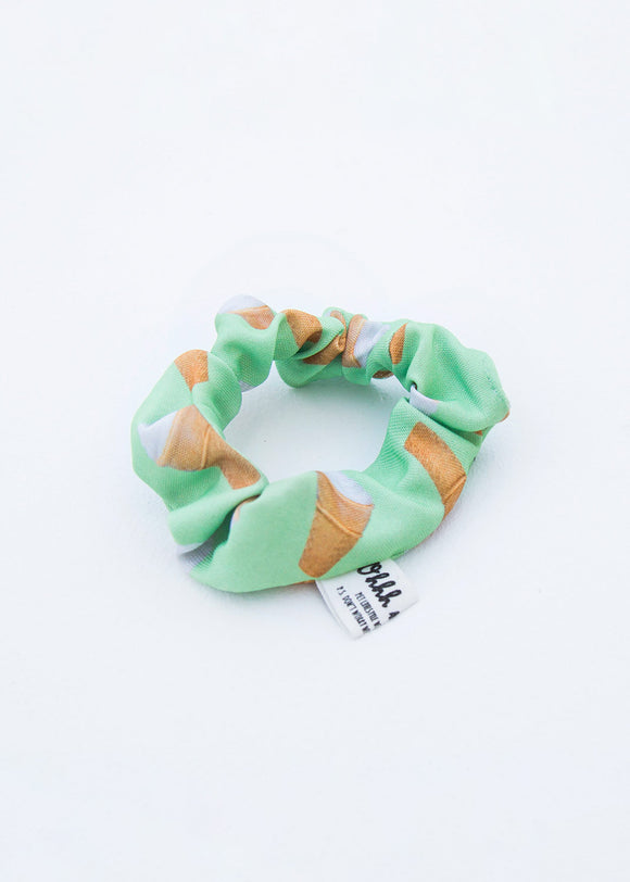 SCRUNCHIE - ICECREAM - GREEN