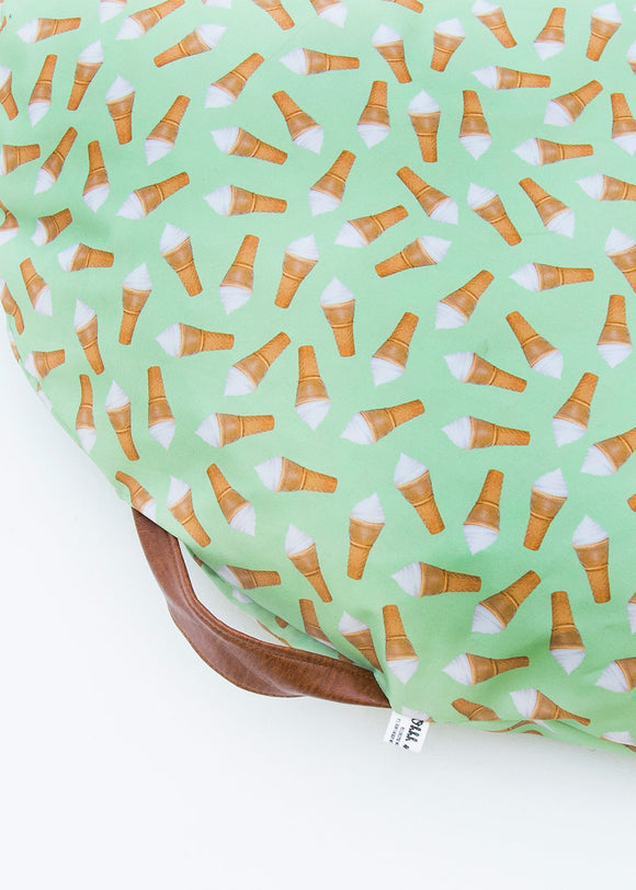 DONUT DISTURB BED - ICECREAM GREEN