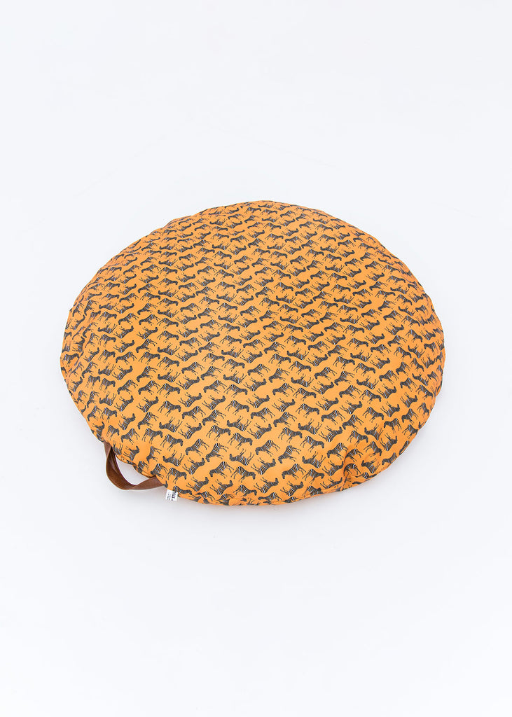 DONUT DISTURB BED - ORANGE - ZEBRA
