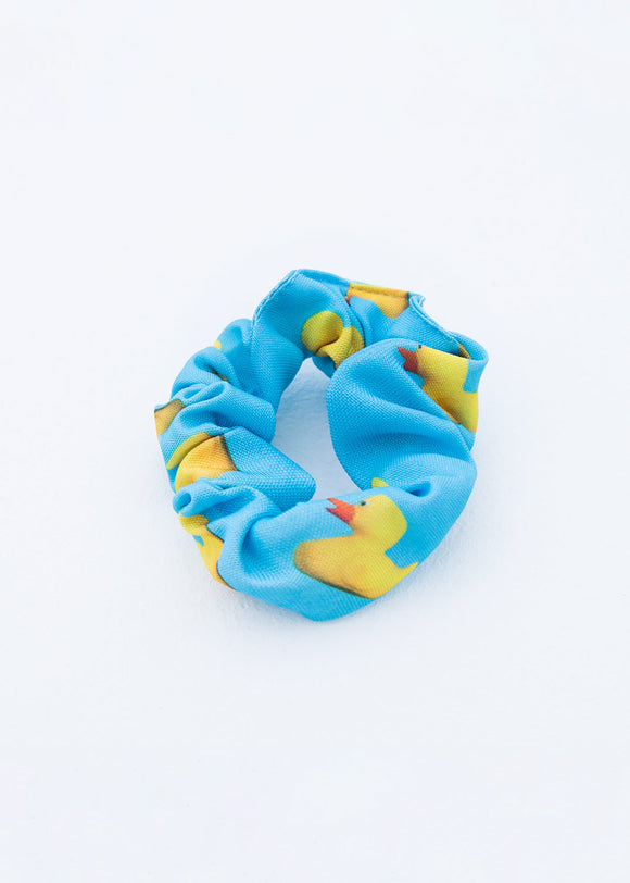 SCRUNCHIE - DUCKS - BLUE
