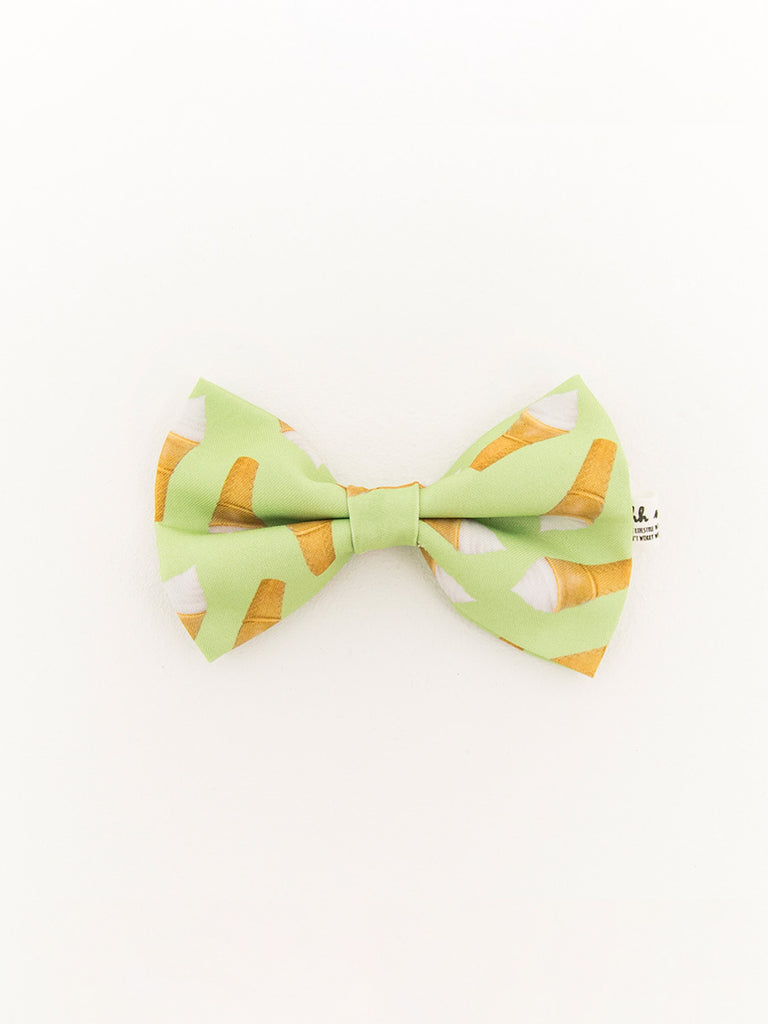 PET BOWTIES - ICECREAM - GREEN
