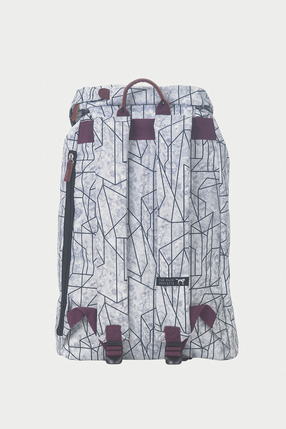GEOMETRIC MARBLE PREMIUM BACKPACK