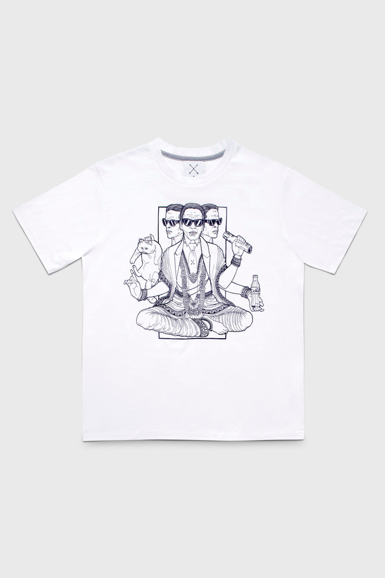 KARL T-SHIRT - FRONT STAMP