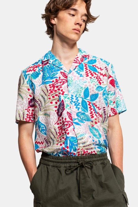 FLORAL ALL-OVER PRINTED SHIRT