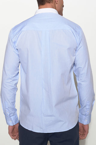SOULLAND - HOLDT SHIRT – BLUE - Men Clothing - Ozon Boutique - 1