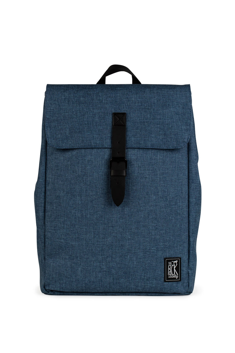 SQUARE LIGHT BLUE BACKPACK