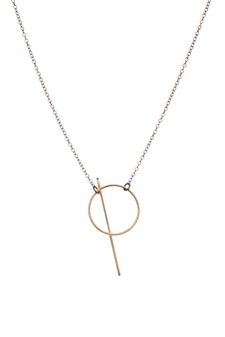 MOODLIKEME - THALE NECKLACE GOLD/SILVER - Jewellery - Ozon Boutique - 1
