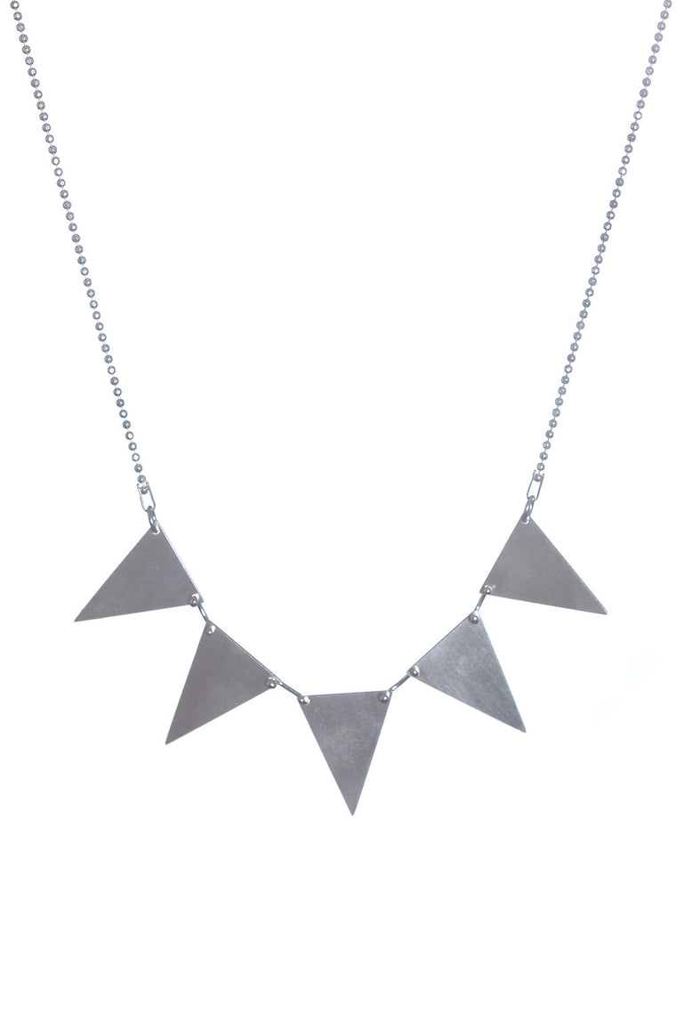 TOTHEMETAL - TRIANGLE NECKLACE - Jewellery - Ozon Boutique - 1