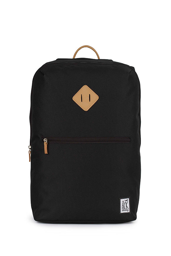 SOLID BLACK BACKPACK