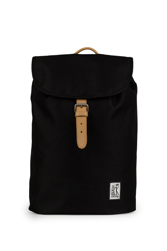 SMALL BACKPACK SOLID BLACK