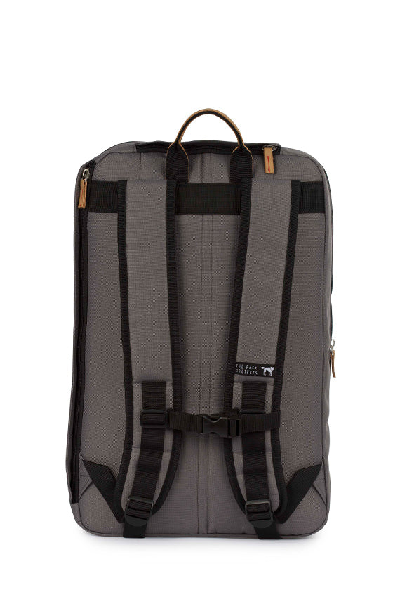 SOLID CHARCOAL BACKPACK
