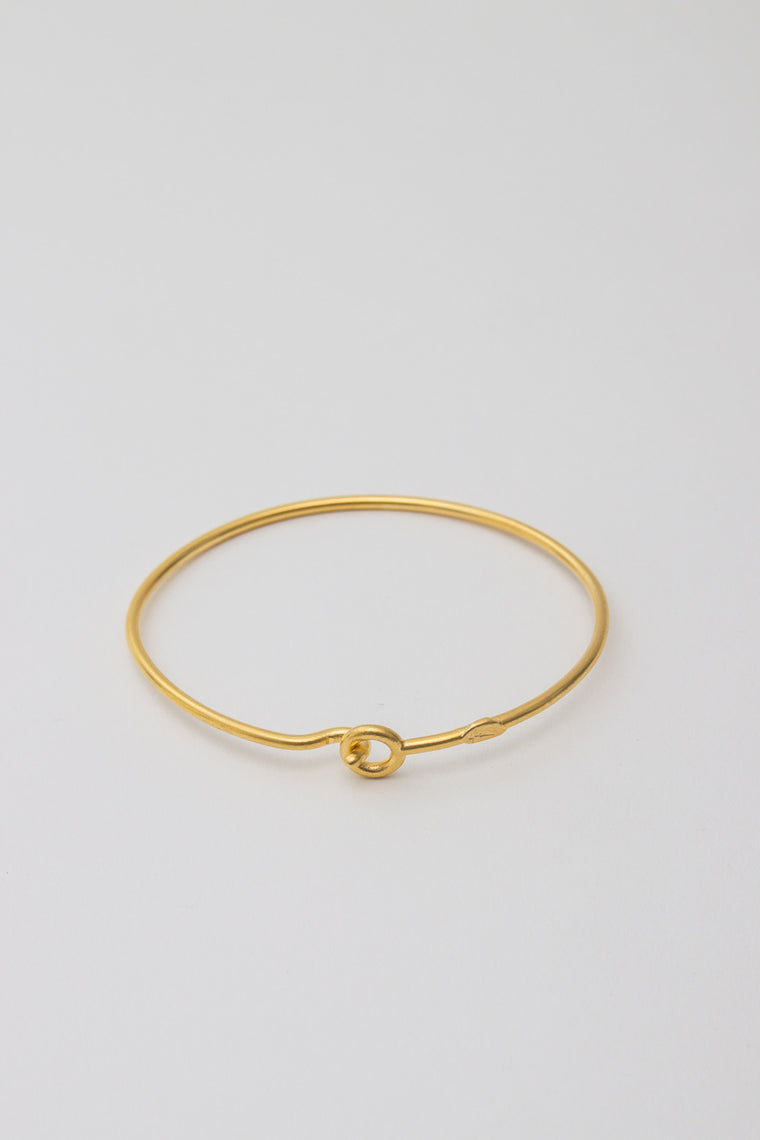BORD DE L'EAU - HOOK BRACELET GOLD - Jewellery - Ozon Boutique - 1