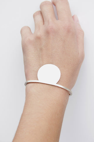 TOTHEMETAL - CUT CIRCLE & SQUARE CUFF - Jewellery - Ozon Boutique - 1