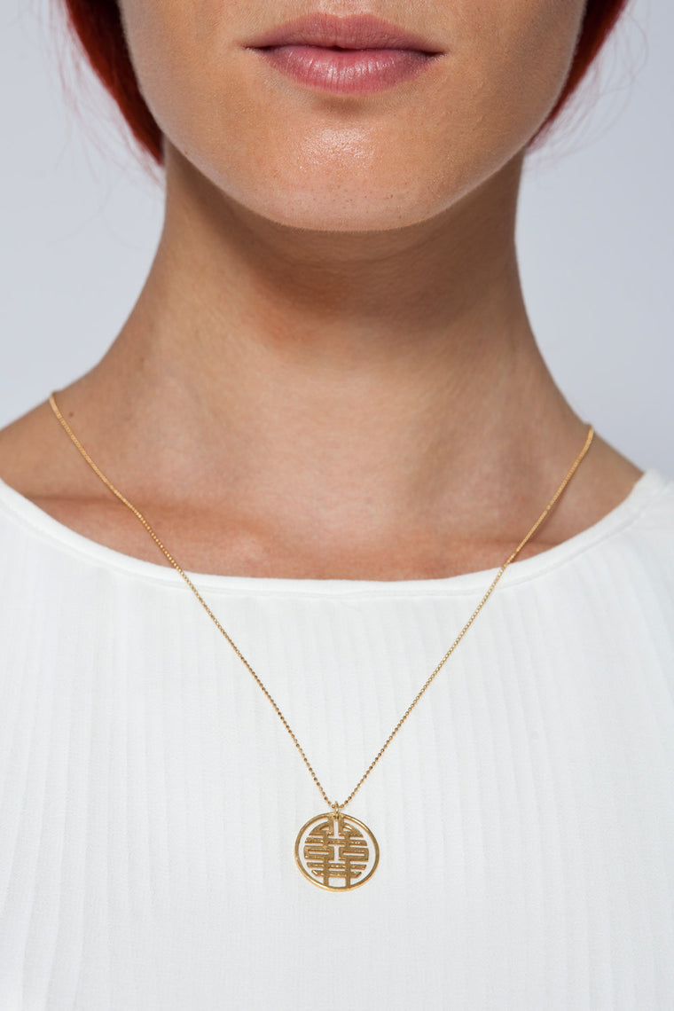MOUTSATSOS - GOLD AMIKO NECKLACE - Jewellery - Ozon Boutique