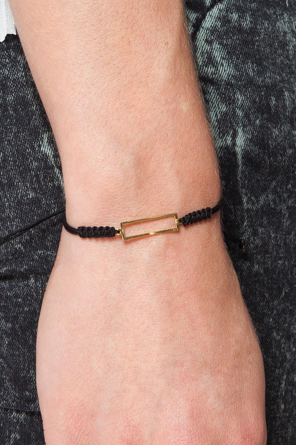 MOUTSATSOS - GOLD GEOMETRY BRACELET - Jewellery - Ozon Boutique
