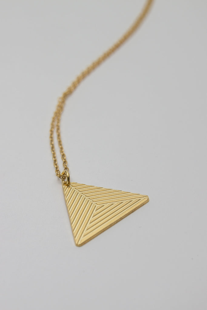 MOODLIKEME - PYRAMID B NECKLACE - Unisex Jewellery - Ozon Boutique - 2