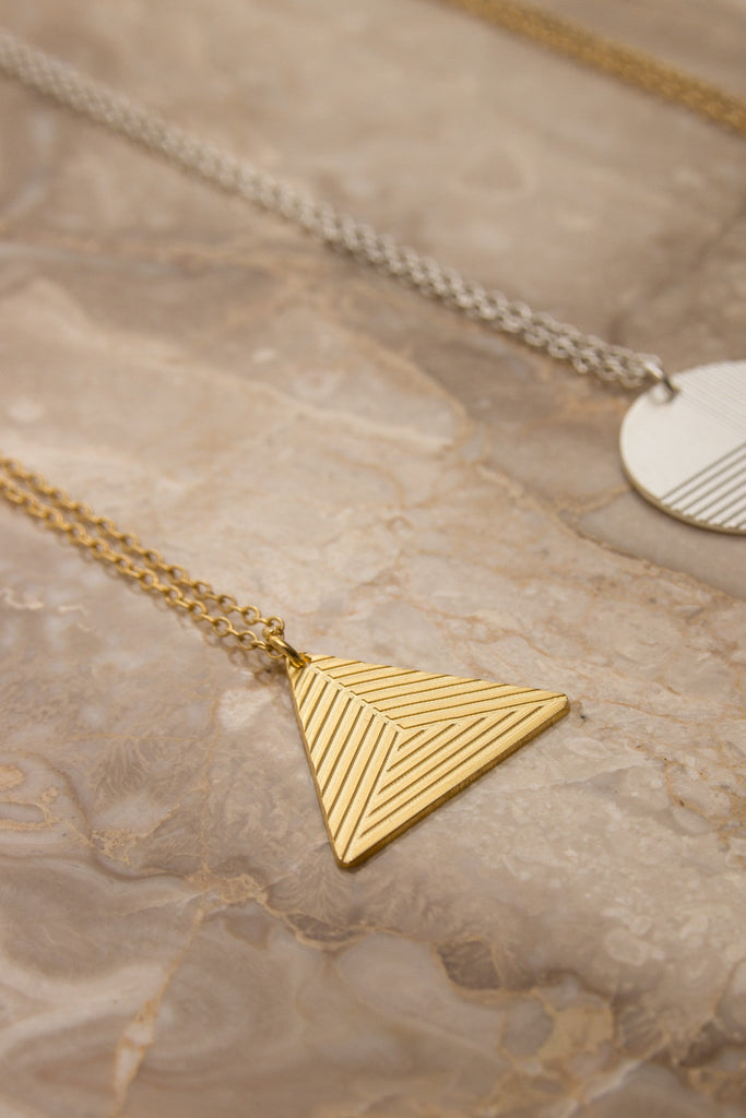 MOODLIKEME - PYRAMID B NECKLACE - Unisex Jewellery - Ozon Boutique - 3