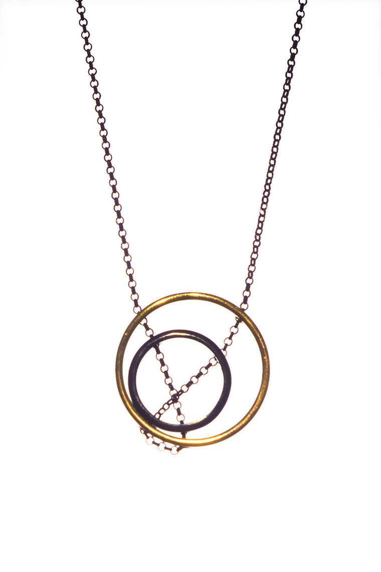 MOUTSATSOS - SMALL DOUBLE CIRCLES - Jewellery - Ozon Boutique - 1