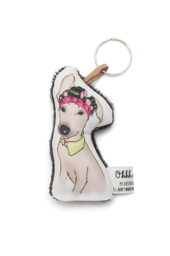 OHHH MY DOG - TZELA THE HOUSEWIFE KEYRING - Pet Accessories - Ozon Boutique