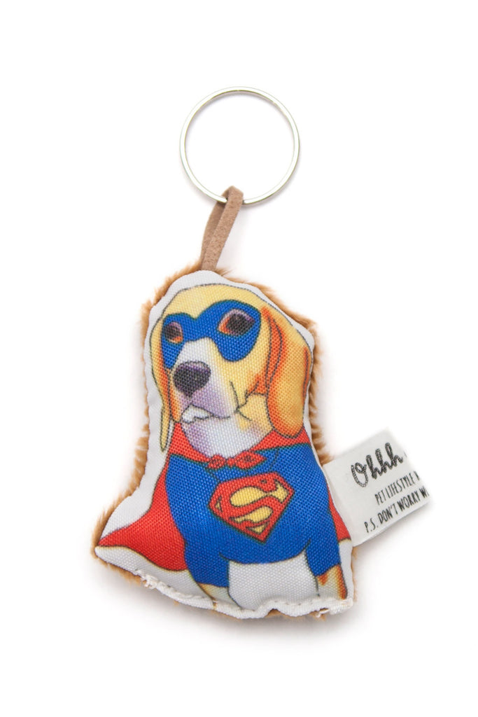 OHHH MY DOG - THE SUPERBEAGLE KEYRING - Pet Accessories - Ozon Boutique
