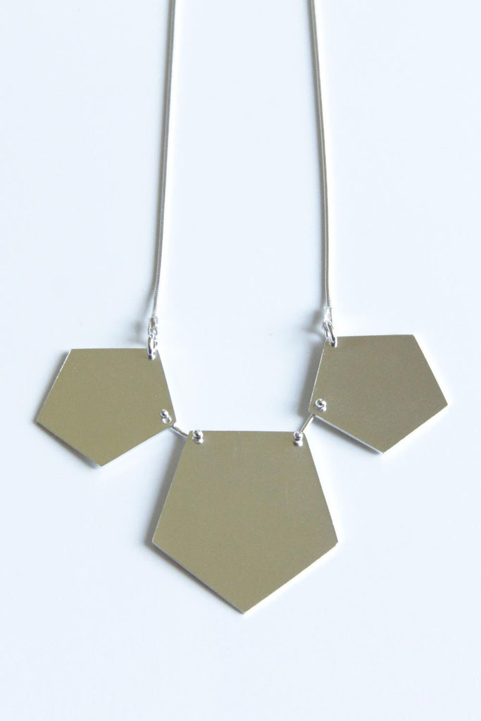 TOTHEMETAL - PENTAGON NECKLACE - Jewellery - Ozon Boutique - 2
