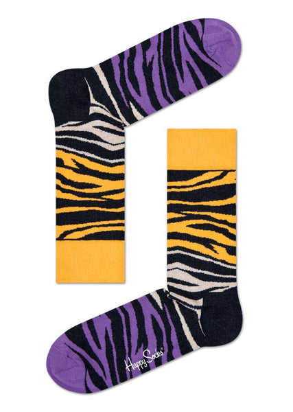 Zebra Sock Multi - Haberdasher - Clothing Boutique